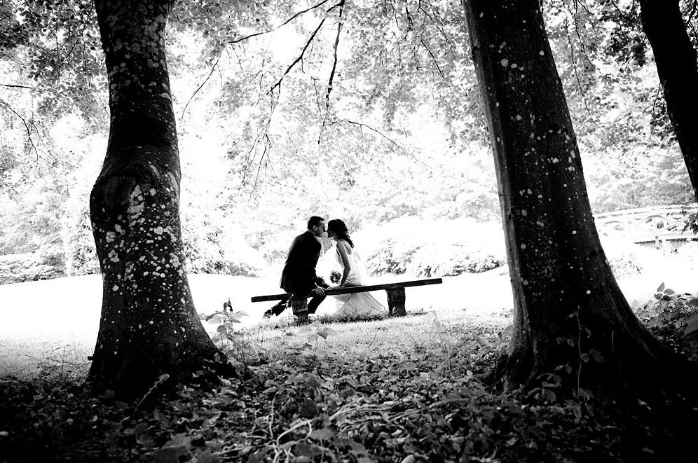 Bryllupsfotografering i Silkeborg