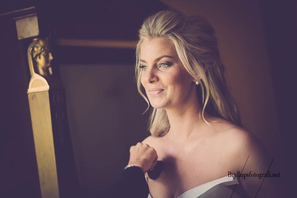 Portrætfotograf til bryllup