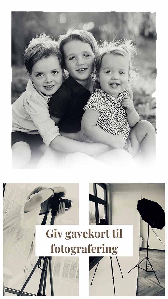 gavekort til fotograf Silkeborg