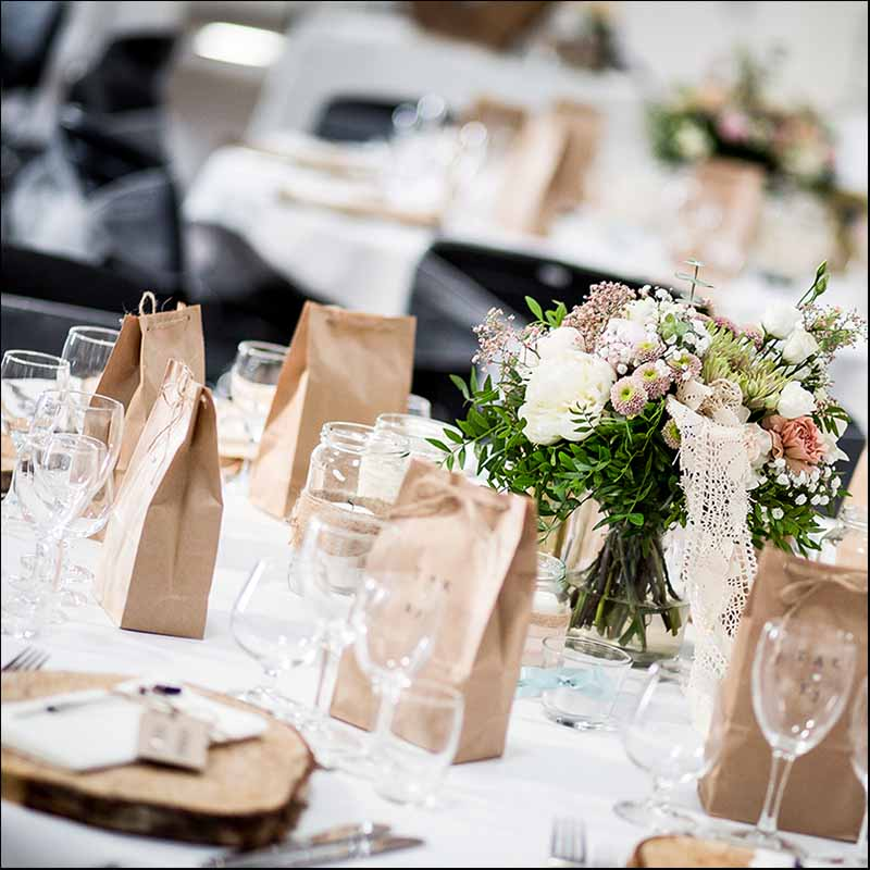 Bordopdækning bryllup Silkeborg