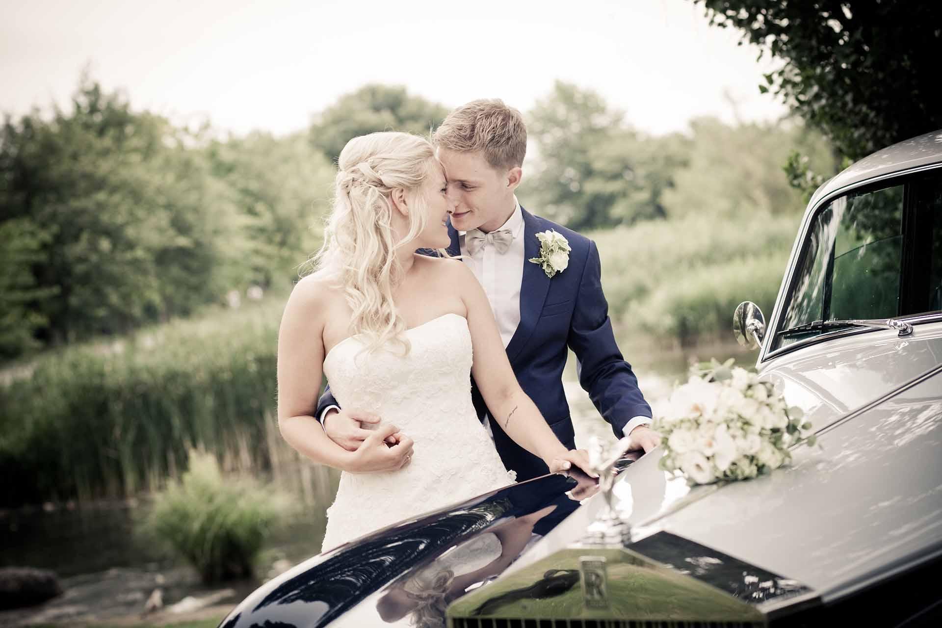 bryllupsfoto i Silkeborg