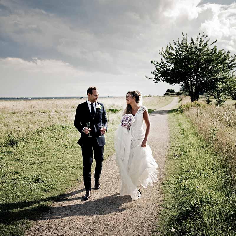 Skarp bryllupsfotograf i Silkeborg gennem de seneste ti år