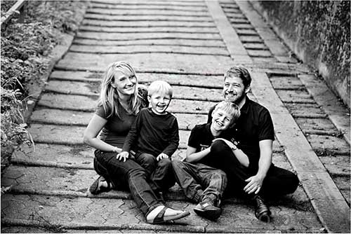 familiefoto silkeborg